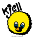 Kjell logo color black