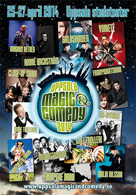 Uppsala Magic & Comedy 2014